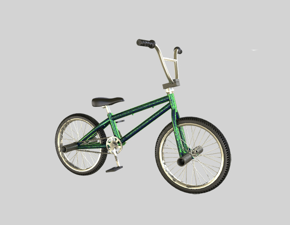 Bicycle BMX - 3DOcean Item for Sale