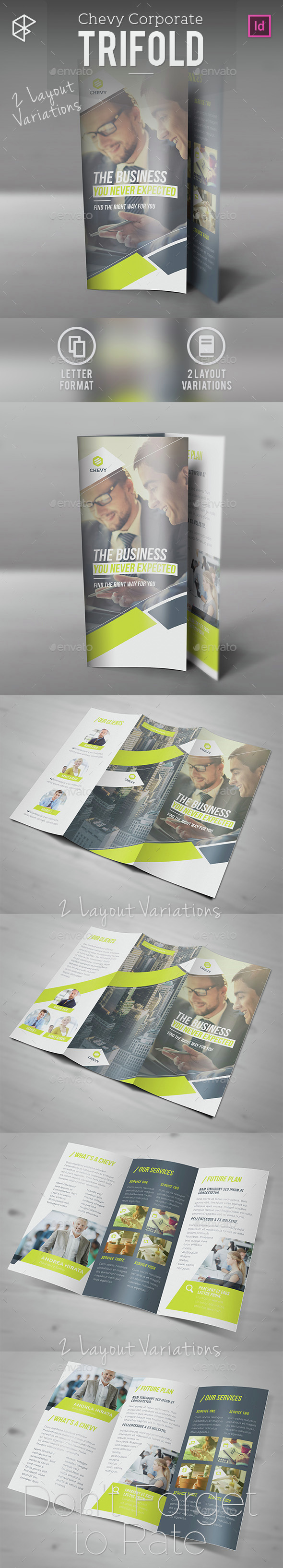 Chevy Corporate Trifold - Corporate Brochures
