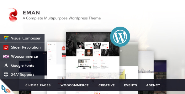 Eman – Creative Multipurpose WordPress Theme