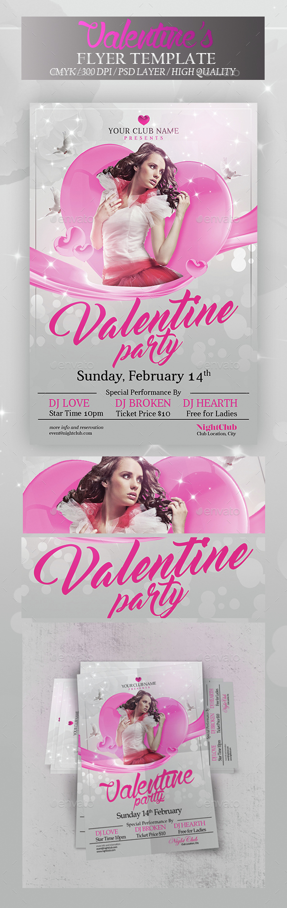 Valentine Night - Clubs & Parties Events