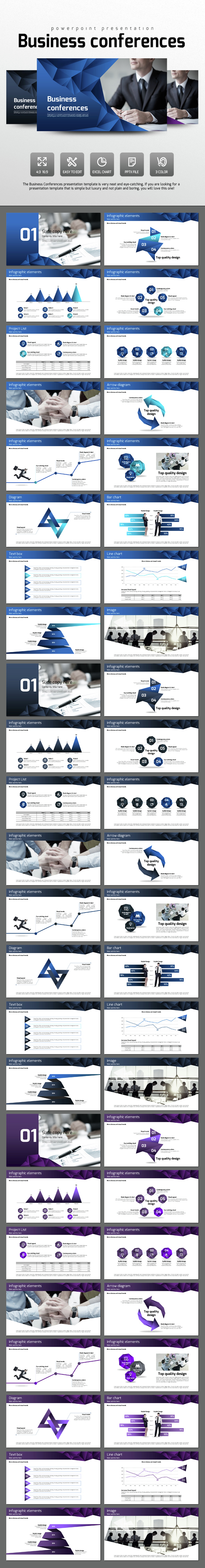 Business Conferences - PowerPoint Templates Presentation Templates