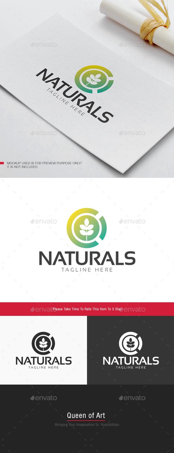 Naturals Logo - Nature Logo Templates