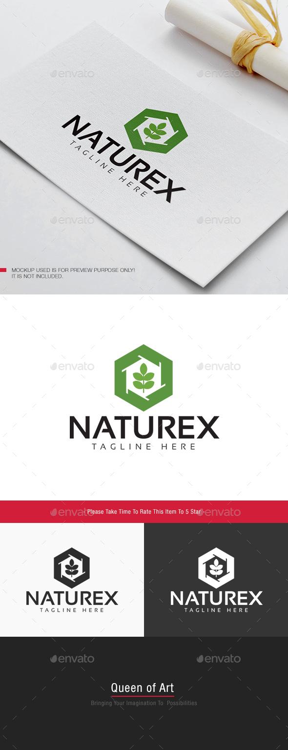Naturex Logo - Nature Logo Templates