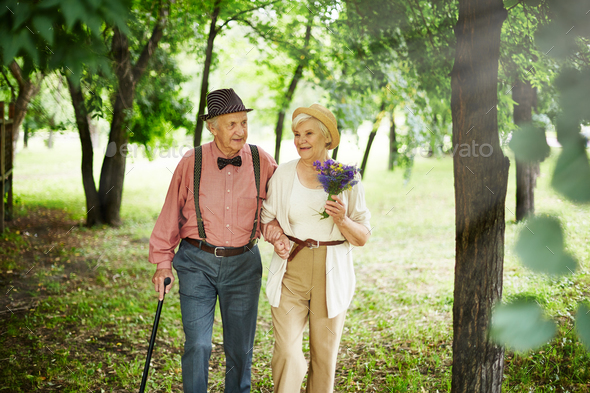 Walk on weekend - Stock Photo - Images