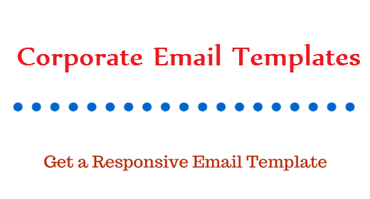 Corporate Email Templates