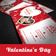 Creative Valentine's Day Gift Voucher  - GraphicRiver Item for Sale