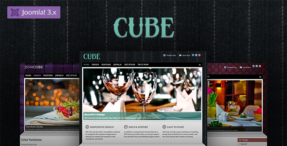 JSN Cube - Joomla Fashion Responsive Template - Fashion Retail