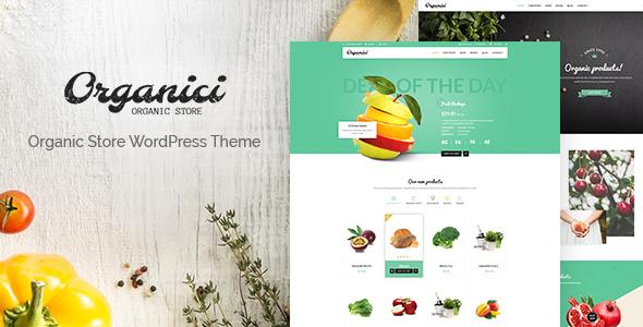 Organici - Organic Store/Bakery WooCommerce Theme