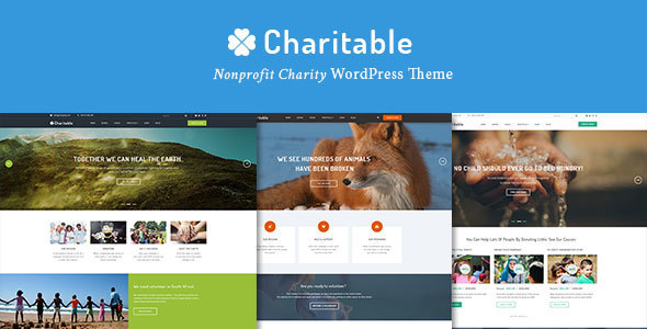 Charitable – Nonprofit Organization WordPress Theme