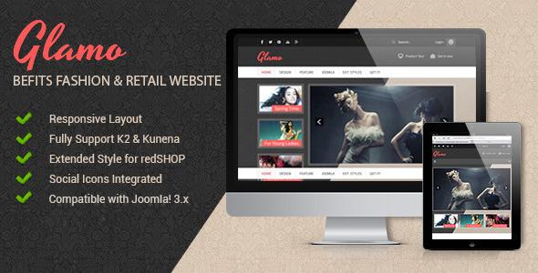 JSN Glamo - Befits fashion & Retail websites