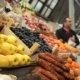 Woman Buys Vegetables At a Farm Market - VideoHive Item for Sale