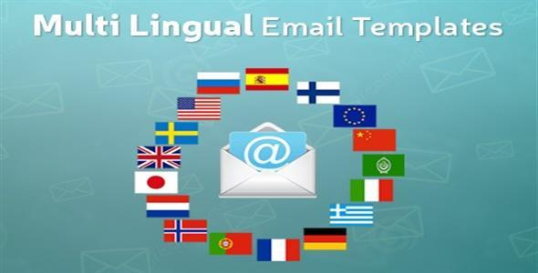 Multi Lingual Email Templates - CodeCanyon Item for Sale