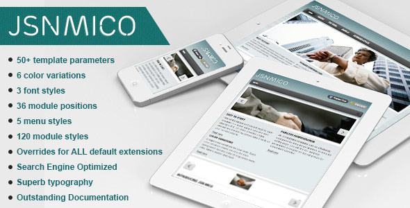 JSN Mico - Responsive Joomla Portfolio Template - Portfolio Creative