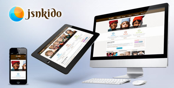 JSN Kido - Responsive Theme & VirtueMart support  - Retail Joomla