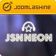 JSN Neon - Joomla Music Theme & JomSocial support Nulled