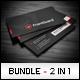 Business Cards Bundle #9 - GraphicRiver Item for Sale