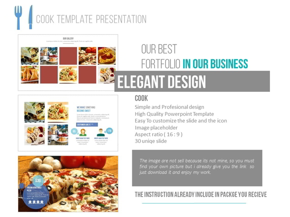 Cook - PowerPoint Templates Presentation Templates
