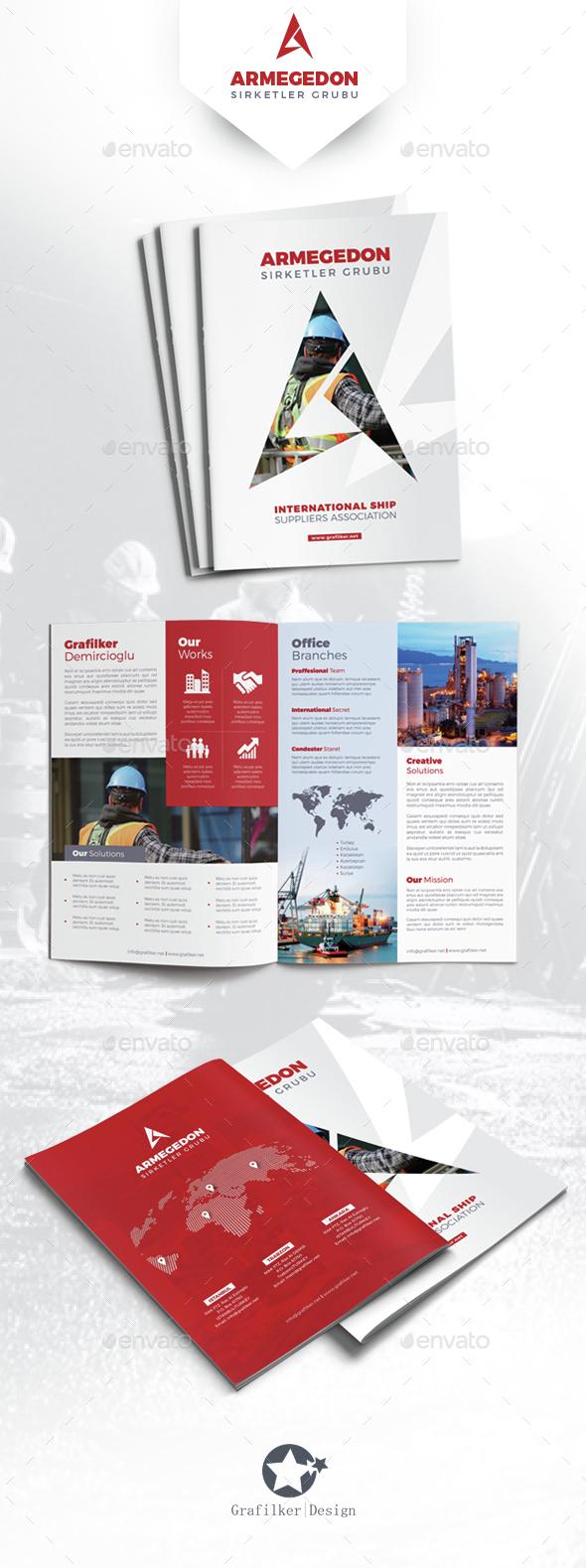 International Brochure Templates - Corporate Brochures