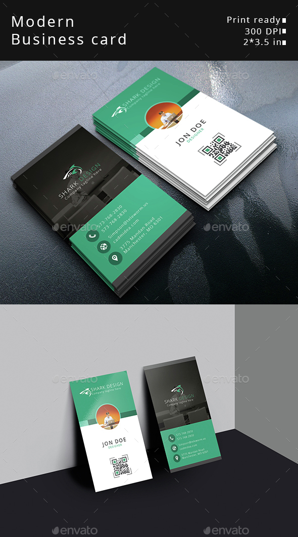 Modern Business Card - Business Cards Print Templates
