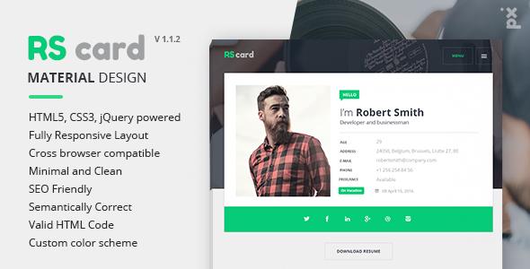Material Resume/CV & Portfolio