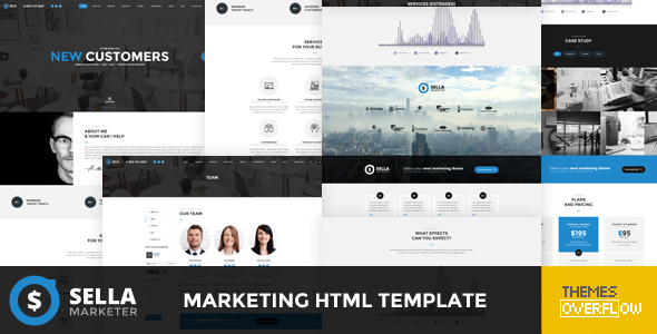 Sella – Marketing HTML Template