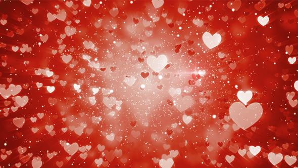 valentines day hearts background by shkirskiy videohive
