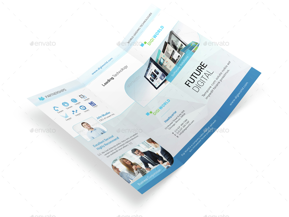 Trifold Brochure Software  BesikEightyCo