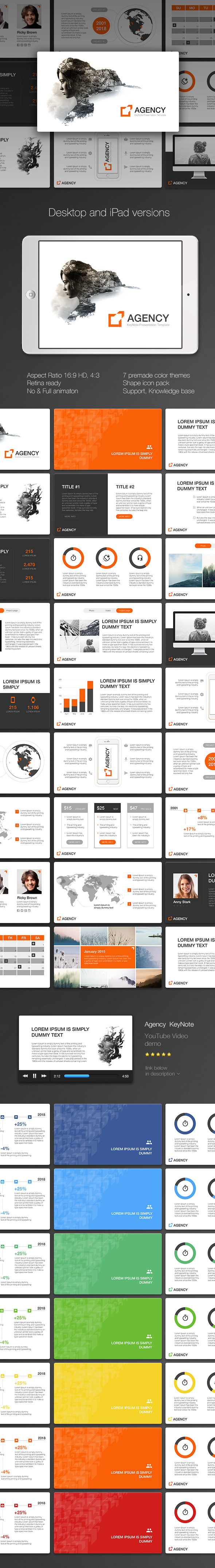 Agency KeyNote - Creative Keynote Templates