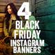 Black Friday Instagram Banners