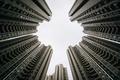 Skyscrapers at Aberdeen, in Hong Kong, Hong Kong. - PhotoDune Item for Sale