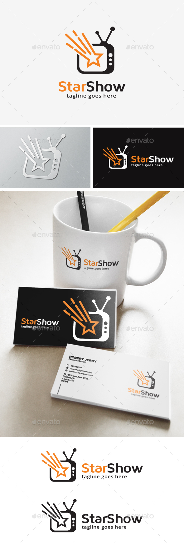 Star Television Logo - Objects Logo Templates