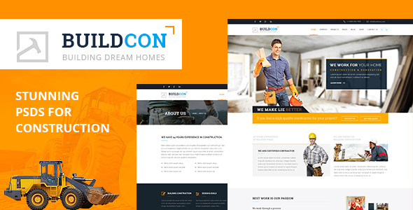 Buildcon PSD Template