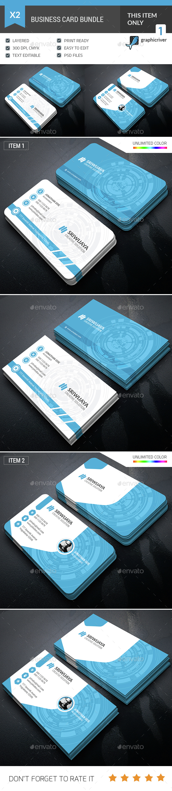 Business Card Bundle - Industry Specific Business Cards