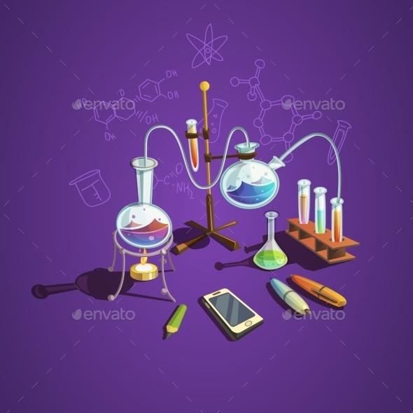 Chemistry Science Concept - Health/Medicine Conceptual