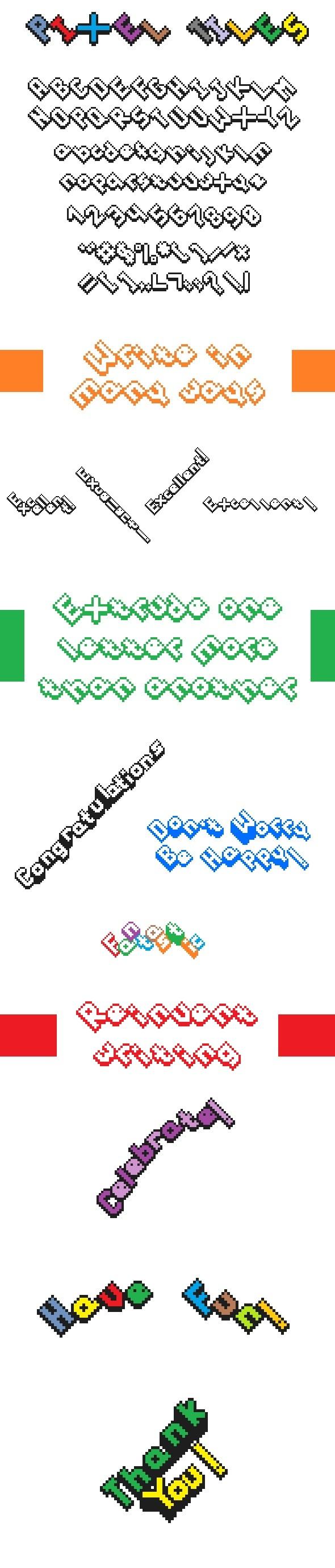 Pixel Tiles - Bitmap & Pixel Decorative