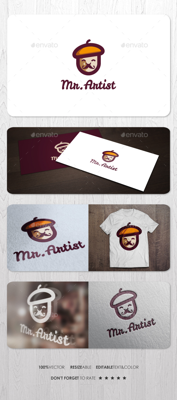 Mr Artist Logo - Humans Logo Templates