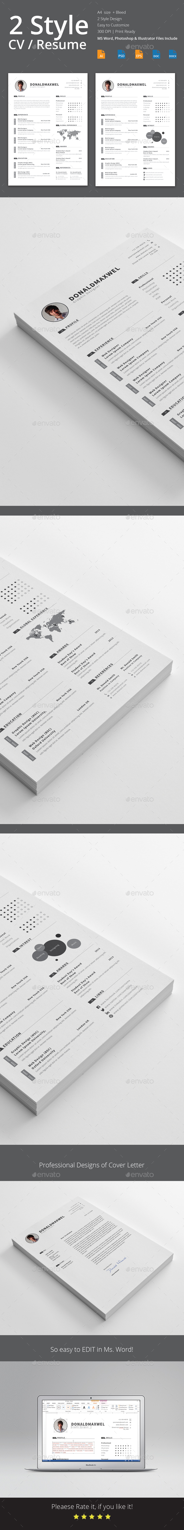 CV / Resume - Resumes Stationery