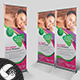 Spa Beauty Salon Roll Up Banner - GraphicRiver Item for Sale