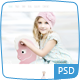 BoHo Baby - Hand Drawn Photoshop Template Nulled
