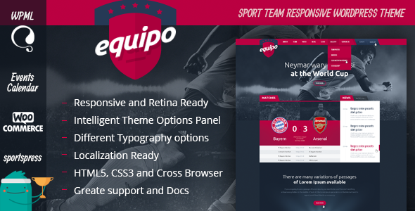 Equipo Responsive WordPress Theme - Nonprofit WordPress
