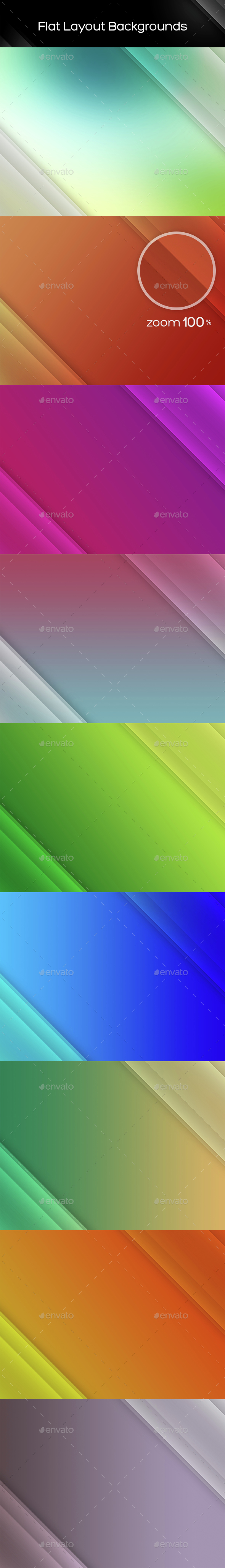 Flat Layout Backgrounds - Backgrounds Graphics