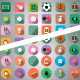 Sport Flat Icon - VideoHive Item for Sale