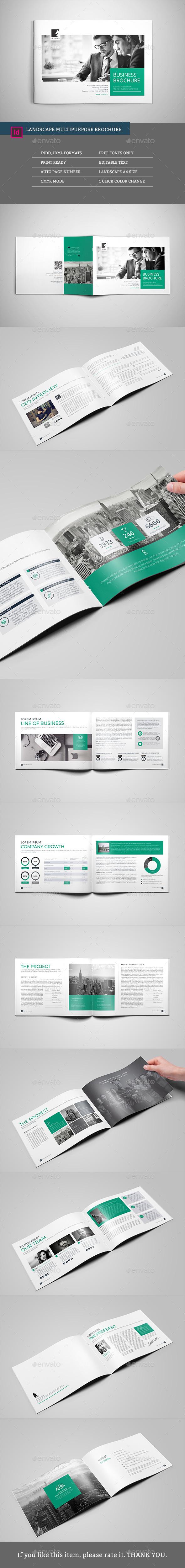 Landscape Access Multipurpose Brochure - Corporate Brochures