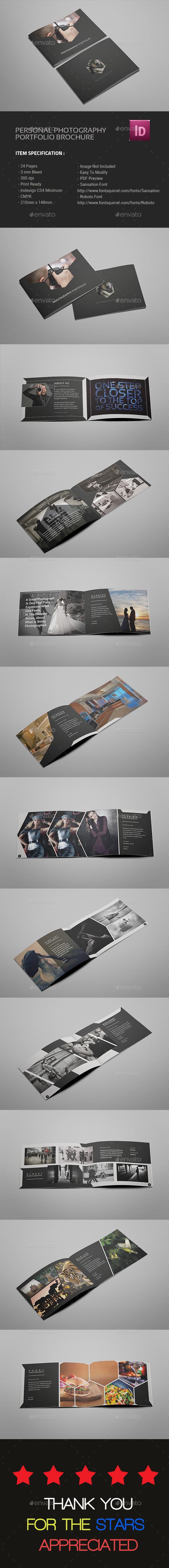 A5 Photography Portfolio Brochure - Portfolio Brochures