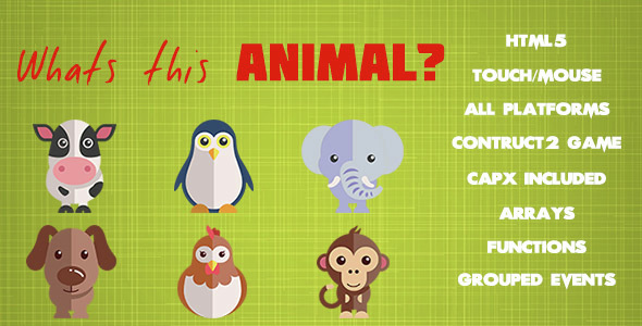 What's That Animal? - CodeCanyon Item for Sale