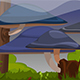 Giant Mushrooms Land Background 3 - GraphicRiver Item for Sale