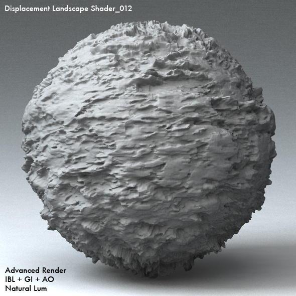 Displacement Landscape Shader_012 - 3DOcean Item for Sale