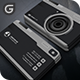 Camera - Photography Business Card  - GraphicRiver Item for Sale