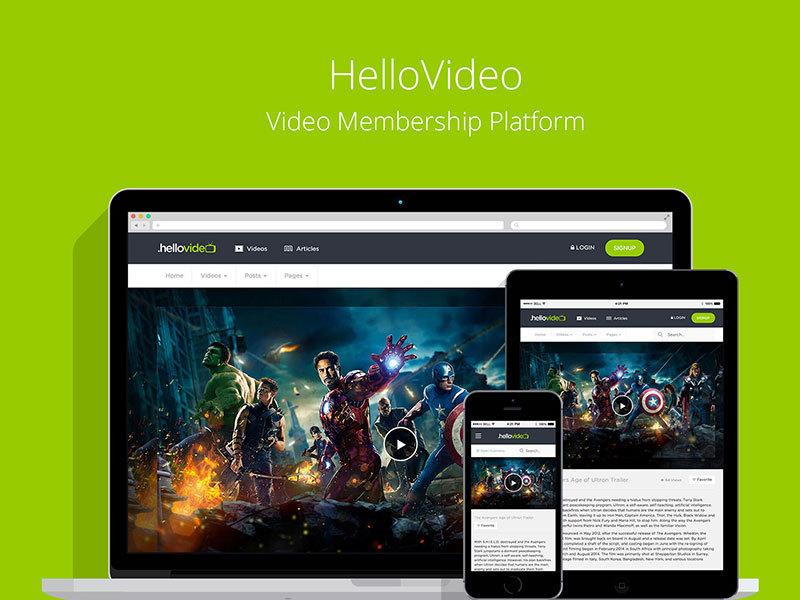 HelloVideo - Video CMS