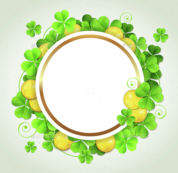Clover Leaves and Golden Coins - Miscellaneous Seasons/Holidays
